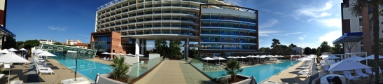 Panoramica dell'Almar Resort&SPA